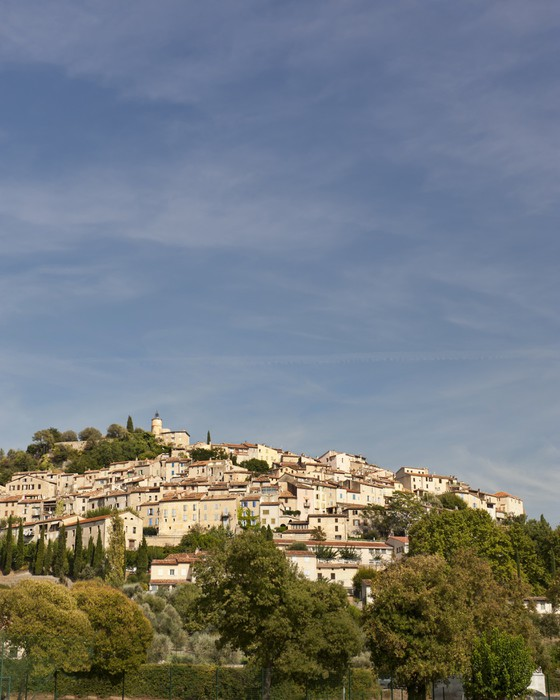 Vinyltapete Mittelalterlichen Dorf Fayence - Europa