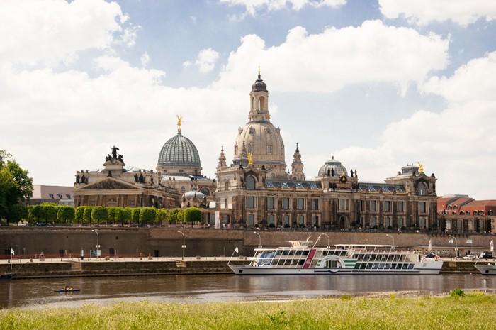 Vinyltapete Dresden - Urlaub