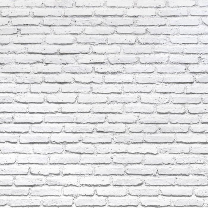 tableau sur toile blanc mur de briques pour un fond pixers nous vivons pour changer. Black Bedroom Furniture Sets. Home Design Ideas