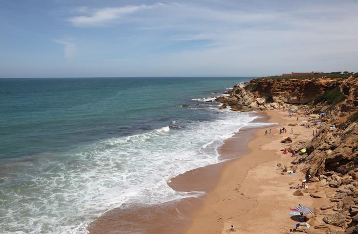 Vinylová fototapeta Atlantic Ocean Beach. Conil de la Frontera, Španělsko - Vinylová fototapeta