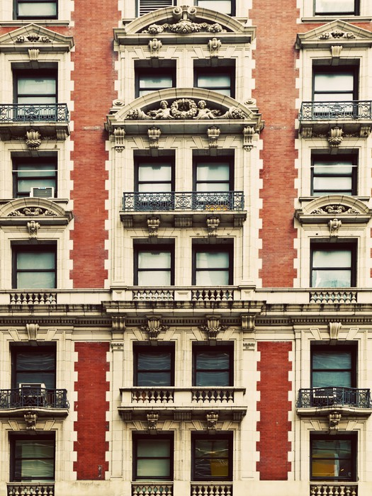 Vinylová Tapeta Starý dům na Manhattanu - Amerika