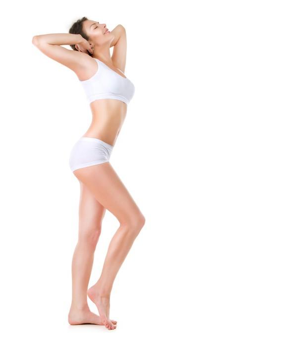 Fotomural Mujer Hermosa. Perfect Body. Retrato de cuerpo entero ...
