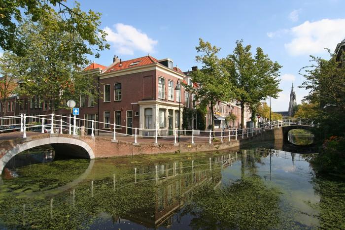 Vinylová Tapeta Delft Canal - Evropa