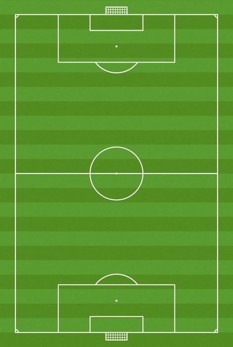 Vinil Duvar Resmi Fußballfeld - Başarı