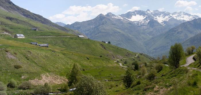 Vinyltapete Pyreneen - Berge