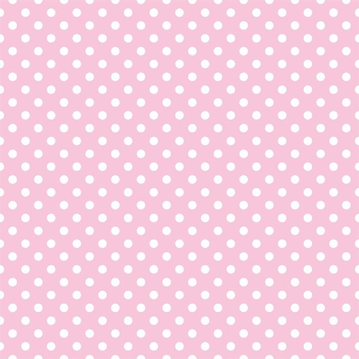 Papier peint pois sur fond rose b b r tro mod le vectoriel transparente pixers nous vivons - Papier peint a pois ...