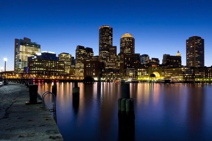 Vinylová Tapeta Boston přístav - Amerika