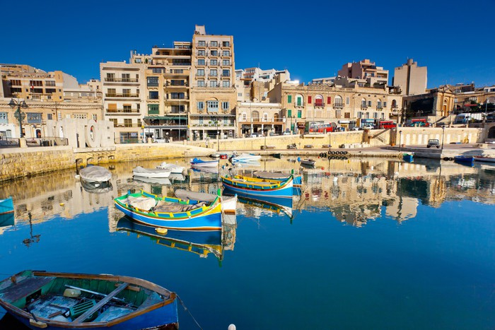 Vinylová Tapeta Malta - Evropa