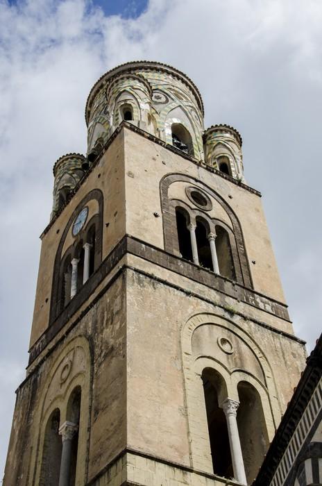 Vinylová Tapeta Amalfi katedrála v Itálii - Evropa