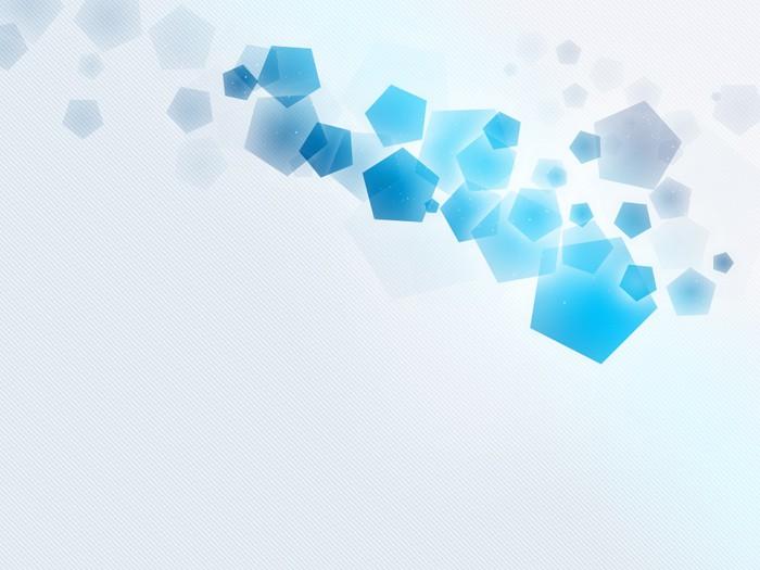 Papier peint Gris-Bleu pentagone, bleu-blanc de rayure Oraigo-W ...