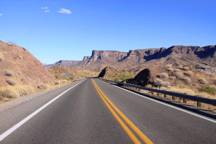 Vinylová Tapeta Malebná krajina od historické Route 66 - Témata