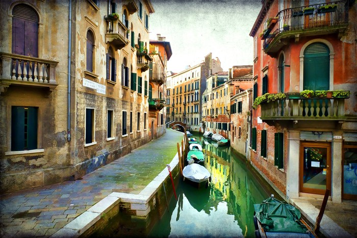 Landscape of venice wall mural pixers we live to change for Castorama mestre