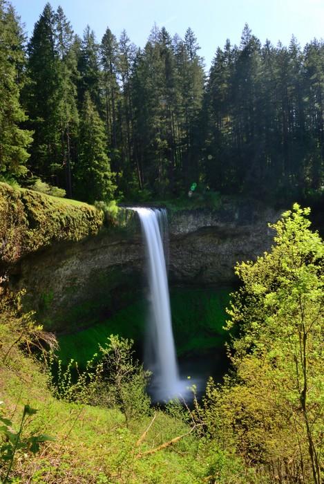 Vinylová Tapeta Falls. USA. Oregon State. - Voda