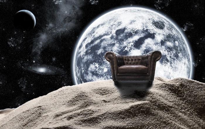 Vinylová Tapeta Starožitné židle ve vesmíru - Úspěch