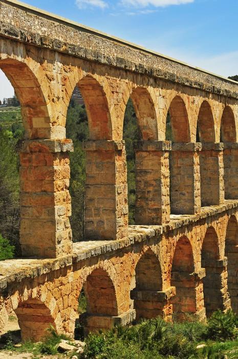 Diabelski Most rzymski akwedukt w Tarragona, Hiszpania