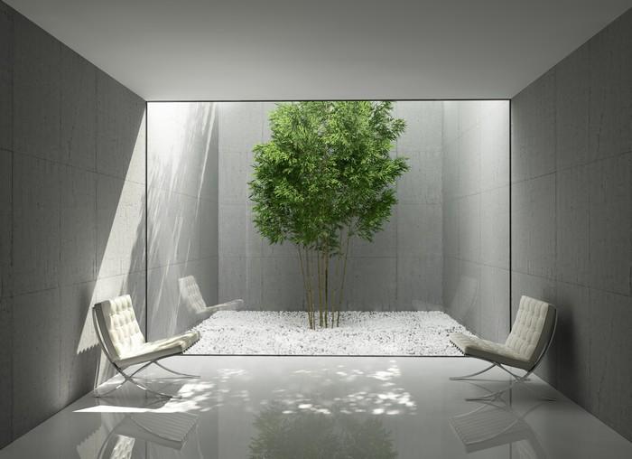 Carta Da Parati Fiori Minimal : Adesivo bianco minimal design per la casa verde salone atrio zona