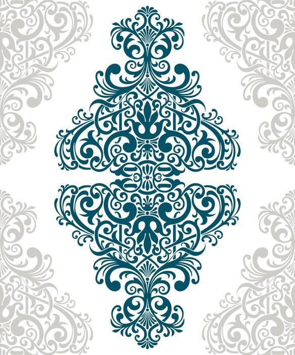 papier peint vector vintage orn couvercle de la carte bordure du cadre pixers nous vivons. Black Bedroom Furniture Sets. Home Design Ideas