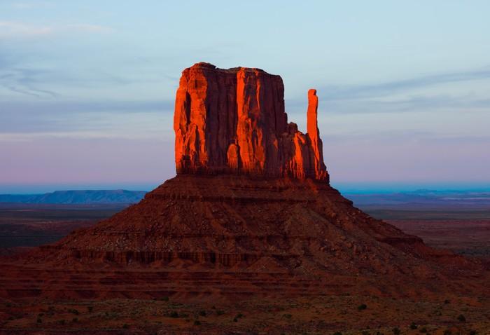 Vinylová fototapeta Monument Valley při západu slunce - Vinylová fototapeta