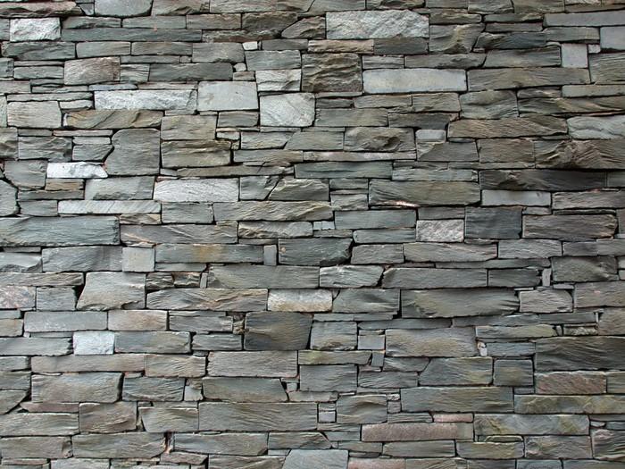 Nálepka Pixerstick Břidlice zeď - Struktury