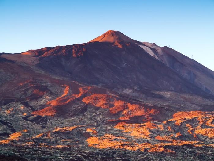 Vinylová Tapeta Teide - Evropa
