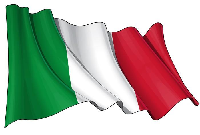 Carta da parati bandiera d 39 italia pixers viviamo per for La parati italia