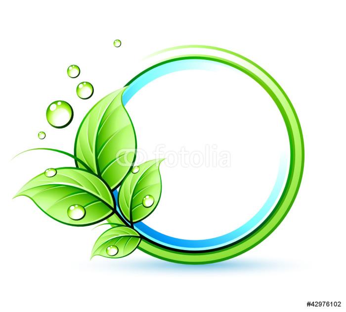 Vinylová Tapeta Ekologie Příroda logo - Ekologie