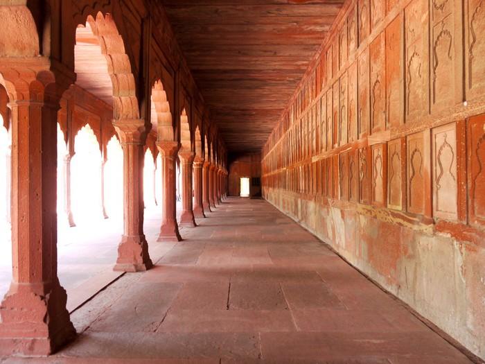 Vinylová Tapeta Pasáž v areálu Taj Mahal v Agra, Indie - Témata