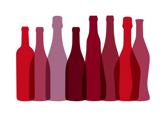 papier peint bouteilles de vins rouge pixers nous vivons pour changer. Black Bedroom Furniture Sets. Home Design Ideas
