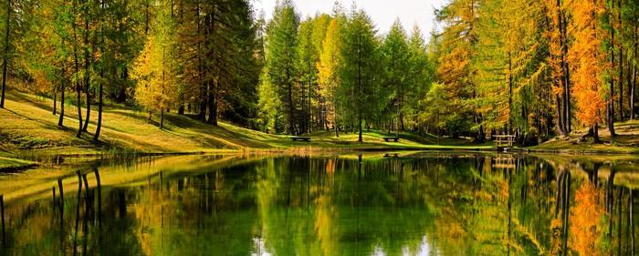 Obraz na Płótnie Lago Scin - Tematy