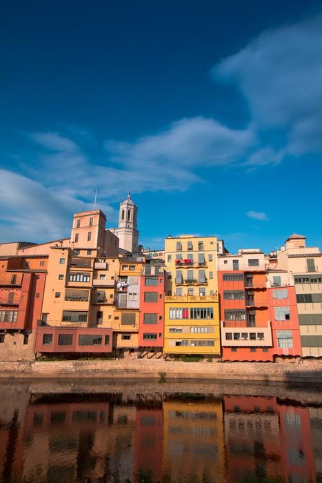 Vinylová Tapeta Girona - Město