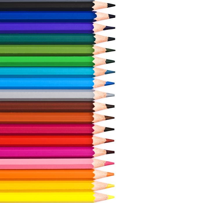 papier peint crayons de couleur align s pixers nous vivons pour changer. Black Bedroom Furniture Sets. Home Design Ideas