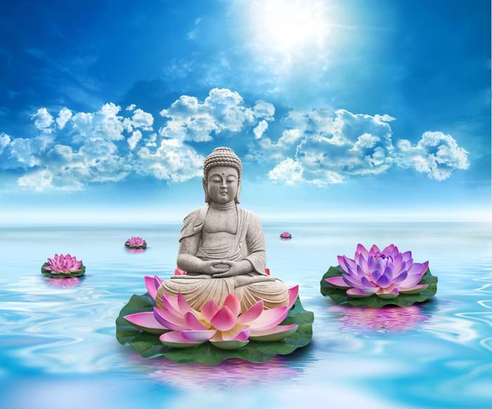 Fotomural estatua bouddha pixers vivimos para cambiar - Fotomurales pixel ...
