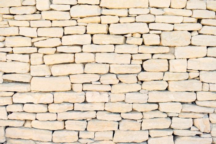 Vinylová Tapeta Kamenná zeď na pozadí, vzor, tapety na Provence, Cote Azur - Témata
