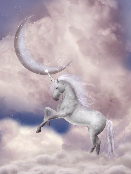 Unicorn Wall Mural Pixers We live to change