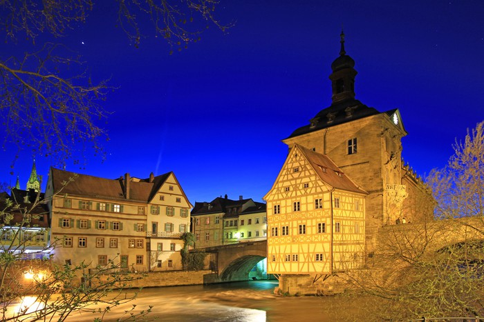 Vinylová Tapeta Altes Rathaus Bamberg - Evropa