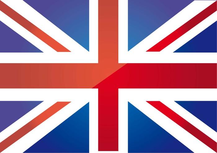 Vinylová Tapeta Flag london - Národní vlajky