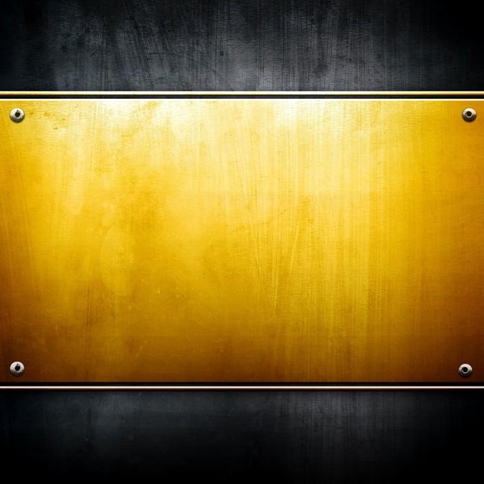 Vinylová fototapeta Zlatá deska - Vinylová fototapeta