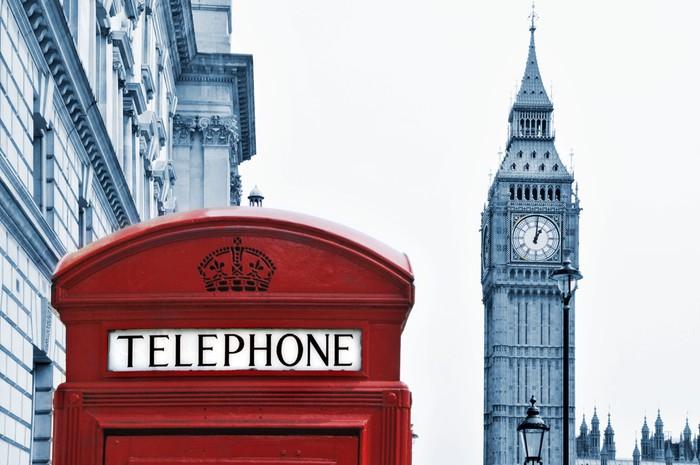 Nálepka Pixerstick Londýn, Velká Británie - Evropská města