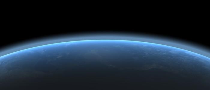 Vinylová Tapeta Země atmosféra - Meziplanetární prostor