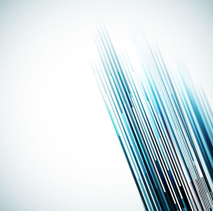 Vinylová Tapeta Abstraktní linie pozadí - Prvky podnikání
