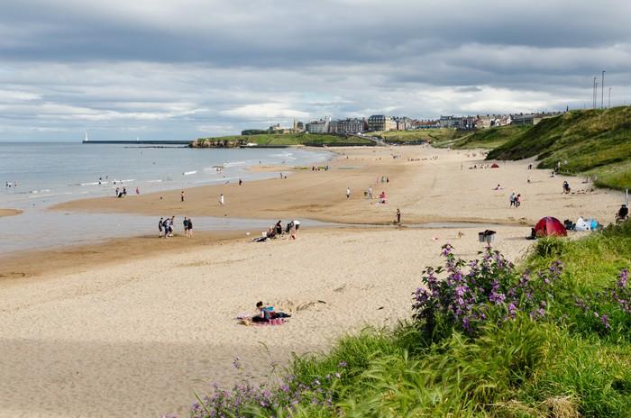 Vinylová Tapeta Tynemouth dlouhé písky - Prázdniny