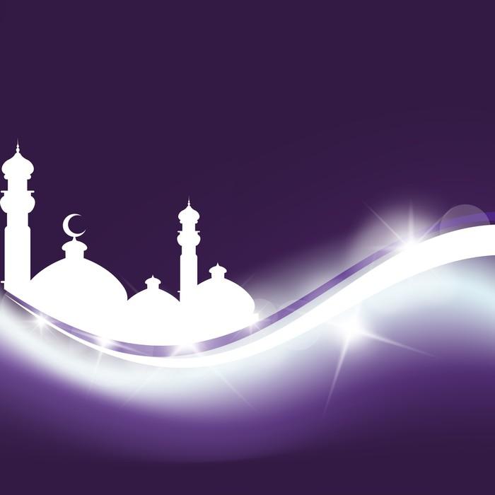Vinylová Fototapeta Ramadan Kareem - Eid Mubarak - Vinylová Fototapeta