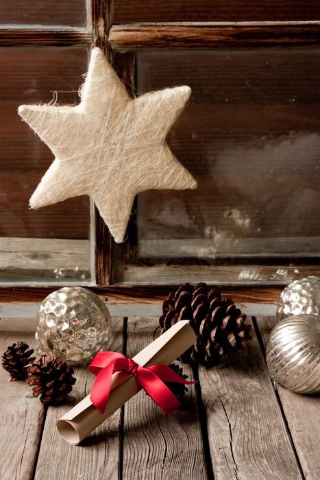 Vinylová Tapeta Weihnachtsdekoration - Mezinárodní svátky