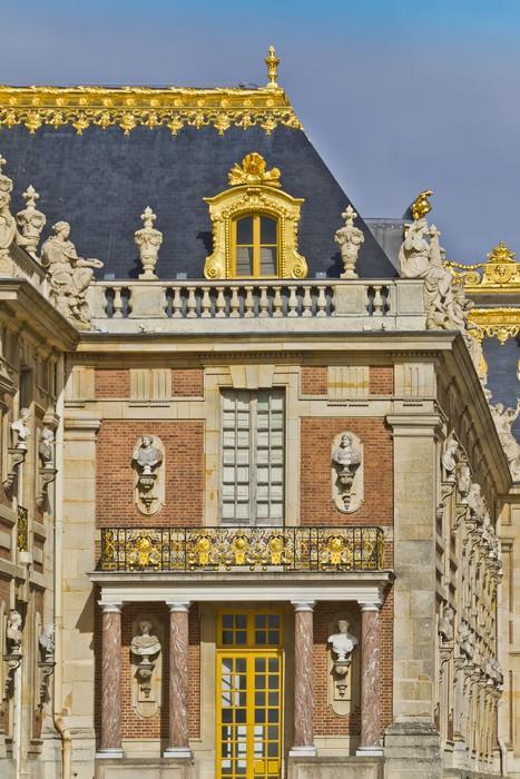Vinylová Tapeta Průčelí paláce Versailles Famous. Paříž, Francie. - Evropská města