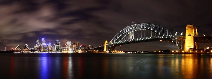 Miasto nocą (Sydney, Australia)