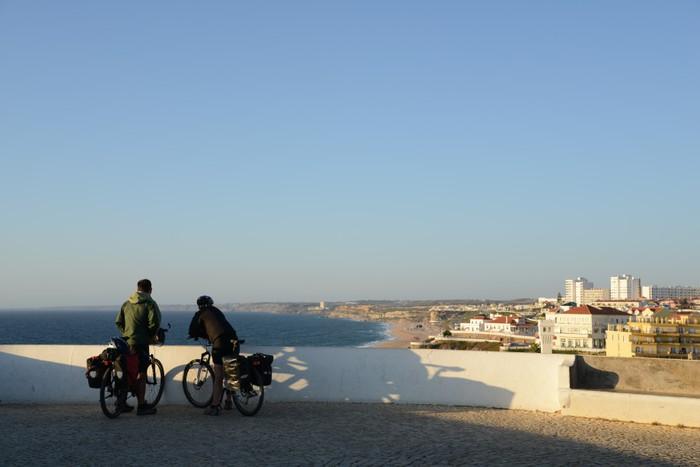 Vinylová Tapeta Ciclisti v relax - Prázdniny