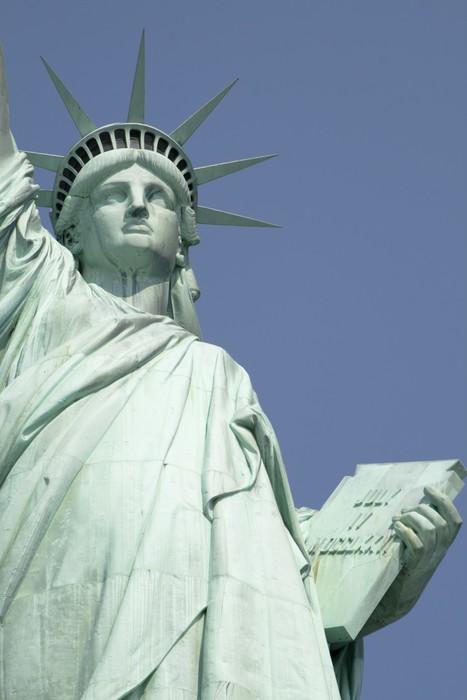 Naklejka Statua Wolności Pixerstick
