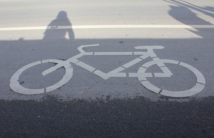 Vinylová Tapeta Bicykl - Na cestě