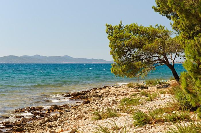 Vinylová Tapeta Chorvatsko pláž - Evropa