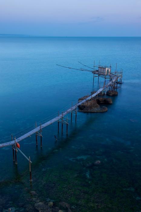 Vinylová Tapeta Trabocco di Punta Aderci, Abruzzo - Evropa